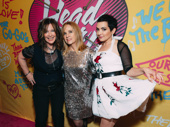 We're mad about these ladies! Original Go-Go's members Kathy Valentine, Charlotte Caffey and Jane Wiedlin get together.