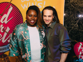 Once On This Island's Alex Newell and Broadway producer Jordan Roth get together.