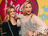 Television host Samantha Bee poses with fellow comedian Allana Harkin.
