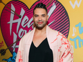 Alex Michaels, known for being RuPaul's Drag Race favorite Alexis Michelle, shows up to support Head Over Heels star Peppermint's Broadway debut.