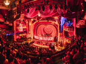 The Moulin Rouge! set is designed by Derek McLane.