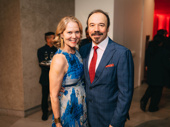 Moulin Rouge! star Danny Burstein and his wife, Broadway's Rebecca Luker.