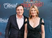 Moulin Rouge! set designer Derek McLane and his wife, Lia Vollack, enjoy the night.