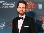 Moulin Rouge!'s Joe Carroll smiles.