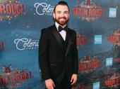 Moulin Rouge! ensemble member Max Clayton stuns in his suit.