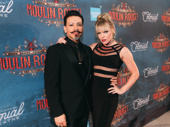 Moulin Rouge!'s Ricky Rojas and Robyn Hurder.