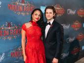 Moulin Rouge leads Karen Olivo and Aaron Tveit.