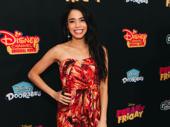 Aladdin's Arielle Jacobs strikes a pose.