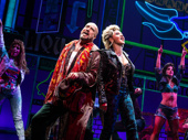 Ellyn Marie Marsh, Eric Anderson, Orfeh and Renee Marino Pretty Woman: The Musical.