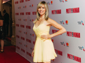 Actress Debbie Gibson returns to Broadway for a night out.