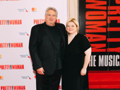 Tony winner and upcoming Torch Song playwright Harvey Fierstein with The Prom musical director Mary-Mitchell Campbell.