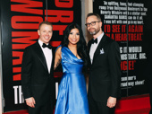 Recent Kinky Boots star Kirstin Maldonado gets together with friends.