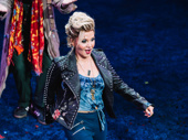 Pretty Woman stand-out Orfeh takes her opening night bow.