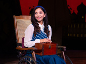 Mili Diaz as Nessarose in Wicked, photo by Justin Barnes