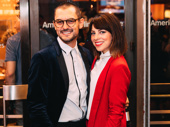 Former The Addams Family co-stars Wesley Taylor and Krysta Rodriguez get together.