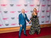 Bernhardt/Hamlet star Janet McTeer and husband Joseph Coleman celebrate opening night.
