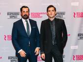 Bernhardt/Hamlet's Chris Thorn and Matthew Amendt celebrate their Broadway debuts.