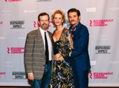 Bernhardt/Hamlet co-stars Dylan Baker, Janet McTeer, and Jason Butler Harner get close.