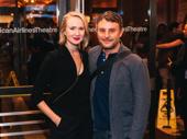 Broadway director Trip Cullman with Hayley Pfeiffer.