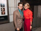 Broadway siblings Andrew Keenan-Bolger and Celia Keenan-Bolger support Celia's husband, John Ellison Conlee, who appears in The Nap.