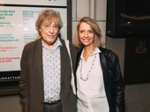 Tony-winning playwright Tom Stoppard with wife Sabrina Guinness.