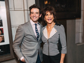 Upcoming Torch Song stars Michael Urie and Mercedes Ruehl get together.