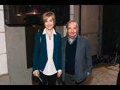 Married stars of the stage and screen Jill Eikenberry and Michael Tucker have a date night out.