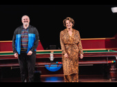 The Nap's John Ellison Conlee and Alexandra Billings take their opening-night bows.