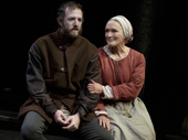 Andrew Hovelson as Pierre Arc and Glenn Close as Isabelle Arc in Mother of the Maid.
