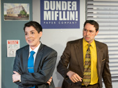 The cast of  The Office! A Musical Parody.