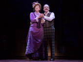 Betty Buckley and Lewis J. Stadlen in the national tour of Hello, Dolly!, photo by Julieta Cervantes