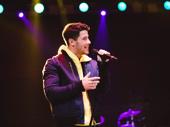 Golden Globe nominee and Broadway alum Nick Jonas surprised the crowd.