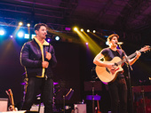 """Nick Jonas and Darren Criss sing """"Brotherhood of Man"""" from How to Succeed in Business Without Really Trying which they both starred on Broadway in."""