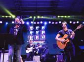 Music legend Rufus Wainwright sings with Darren Criss.