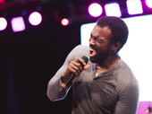Recent Carousel star Joshua Henry gives it his all.