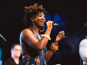 Former Hamilton national tour star Amber Iman sings from the heart.