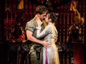 Anthony Festa as Chris & Emily Bautista as Kim in the North American tour of Miss Saigon, photo by Matthew Murphy