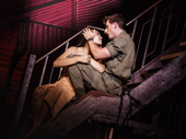 Emily Bautista as Kim & Anthony Festa as Chris in the North American tour of Miss Saigon, photo by Matthew Murphy