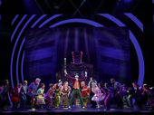 Noah Weisberg as Willy Wonka & the company of the national tour of Roald Dahl's Charlie and the Chocolate Factory