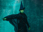 Jessica Vosk as Elphaba.