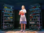Christine Dwyer as Jenna in Waitress, photo by Tim Trumble