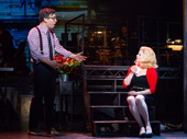 Josh Radnor as Seymour and Megan Hilty as Audrey