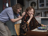 Joan Allen as Ellen Fine and Elaine May as Gladys Green in The Waverly Gallery.