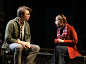 Mike Faist as Spence and Tavi Gevinson as Peggy in Days of Rage.