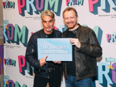 The Drowsy Chaperone cast members Troy Britton Johnson and Bob Martin get together to support their former director and choreographer.