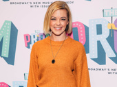 Mean Girls star Kate Rockwell has a fetch night out honoring her director and choreographer.