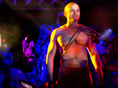 Christian Brailsford as Marc Antony in Cleopatra.