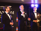 Previous Phantoms Hugh Panaro and Howard McGillin and current Phantom, Ben Crawford, perform songs from The Phantom of the Opera.