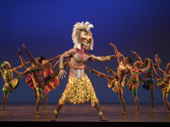 Bradley Gibson as Simba in The Lion King.