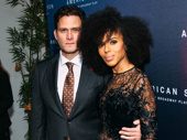 American Son's Steven Pasquale and Kerry Washington.